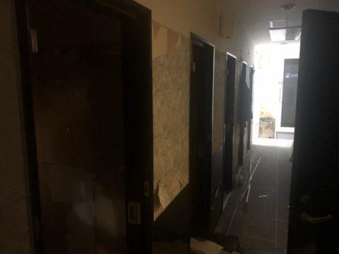 テナントビル店舗改修工事