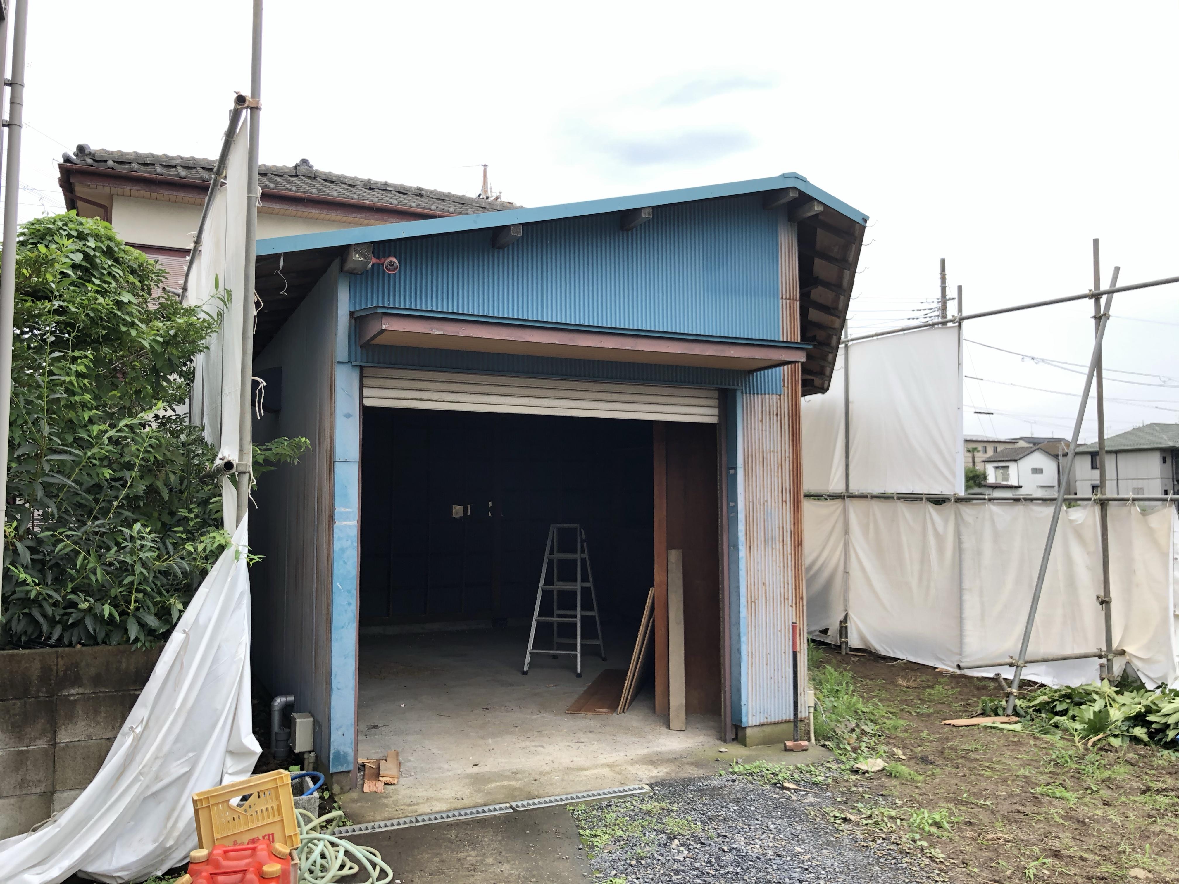 埼玉川越市倉庫解体工事