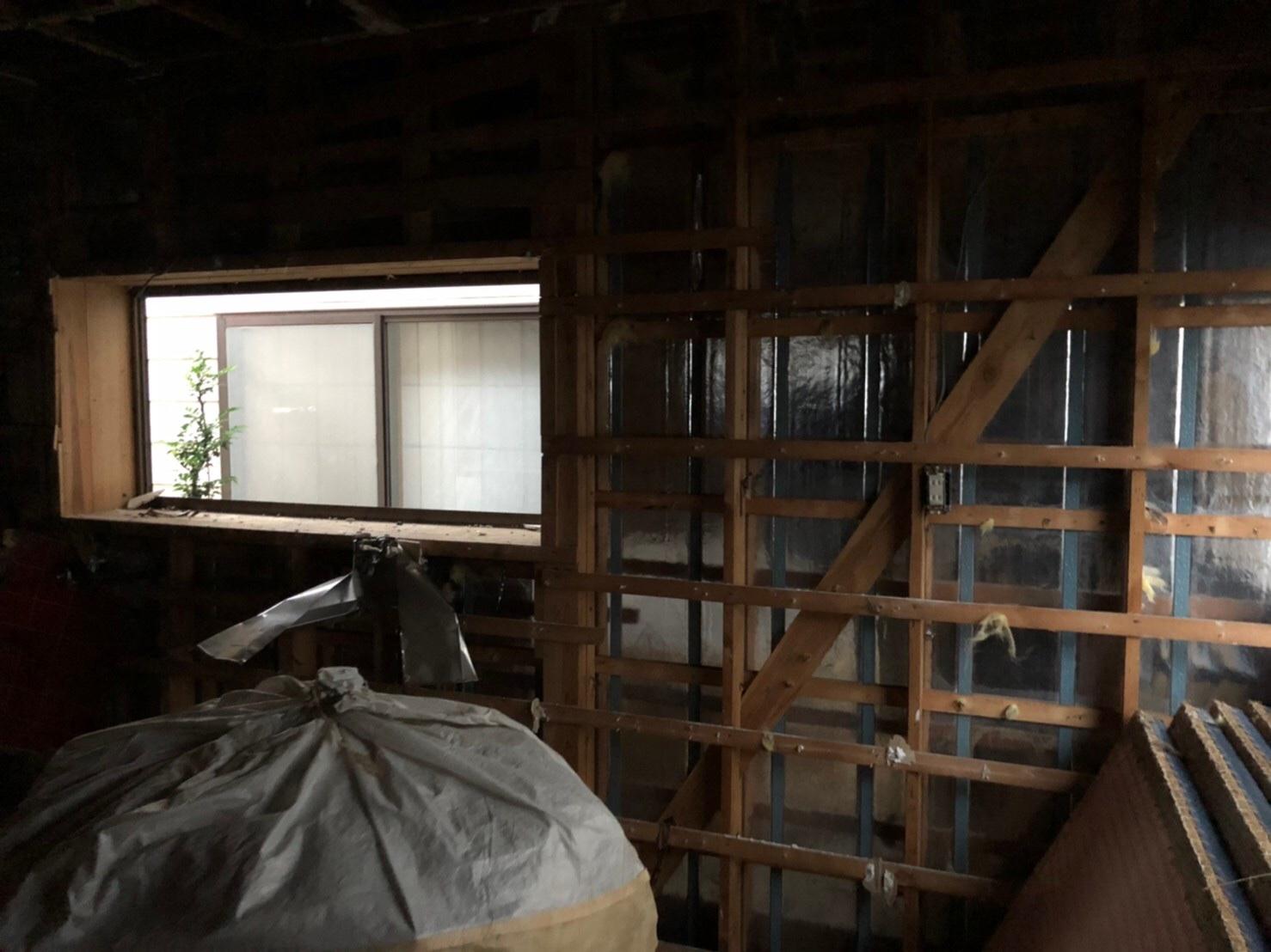 埼玉県桶川市木造解体工事