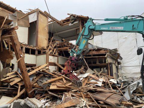 埼玉県狭山市木造2階建解体工事